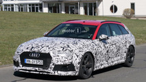 2018 Audi RS4 Avant spy photos