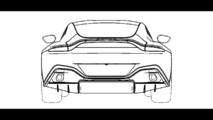 Aston Martin Vantage tasarım eskizi