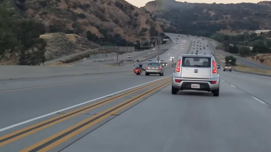 California road rage