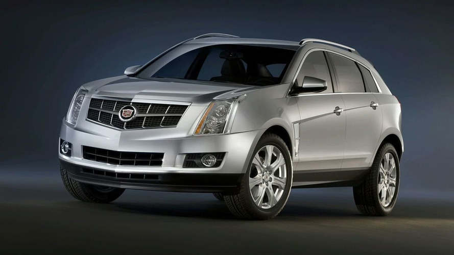 First Images of 2010 Cadillac SRX Crossover Released