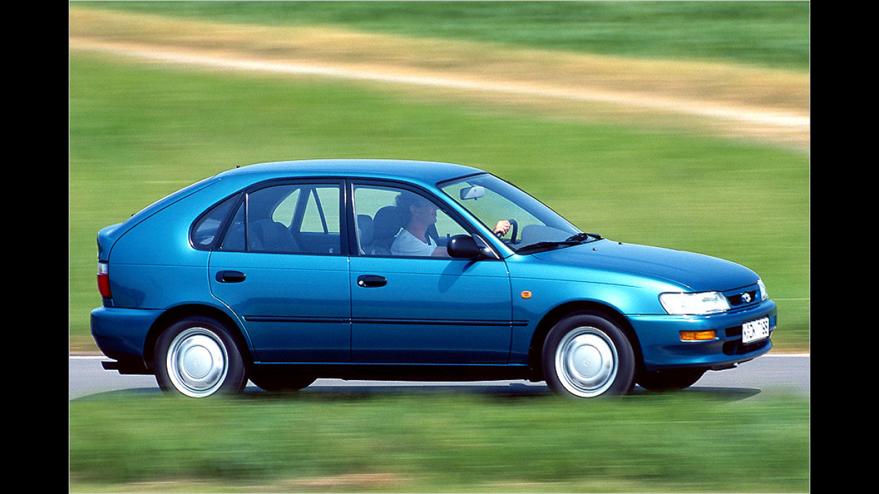 Toyota Corolla: 37 Millionen (seit 1966)