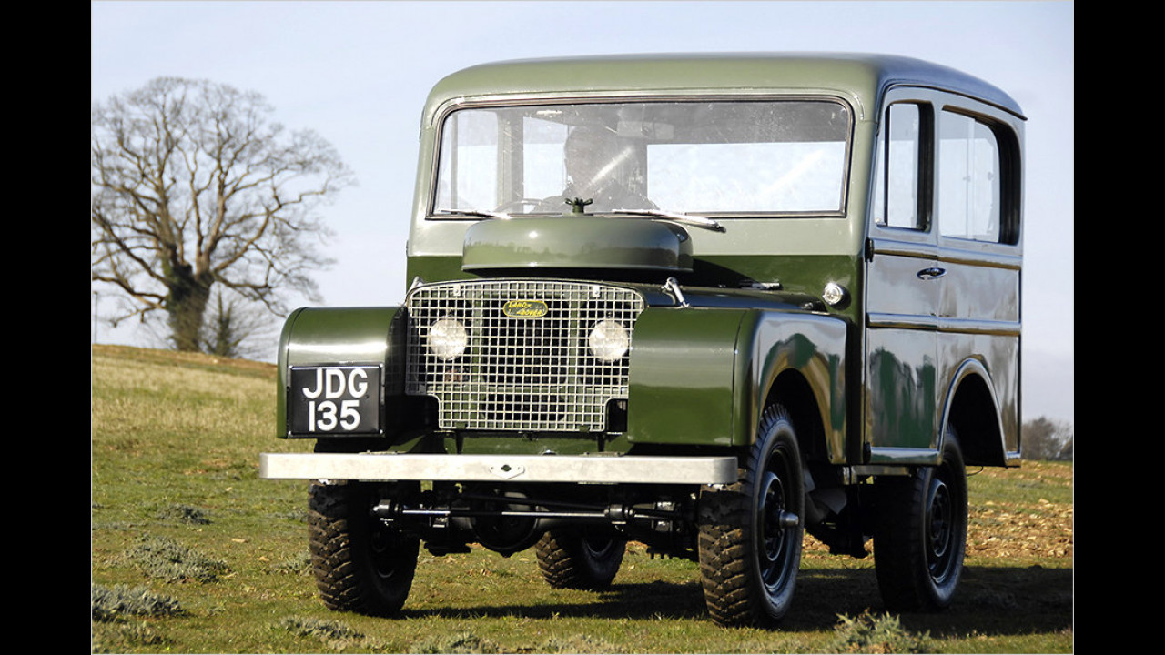Land Rover Series I Station Wagon (1949)