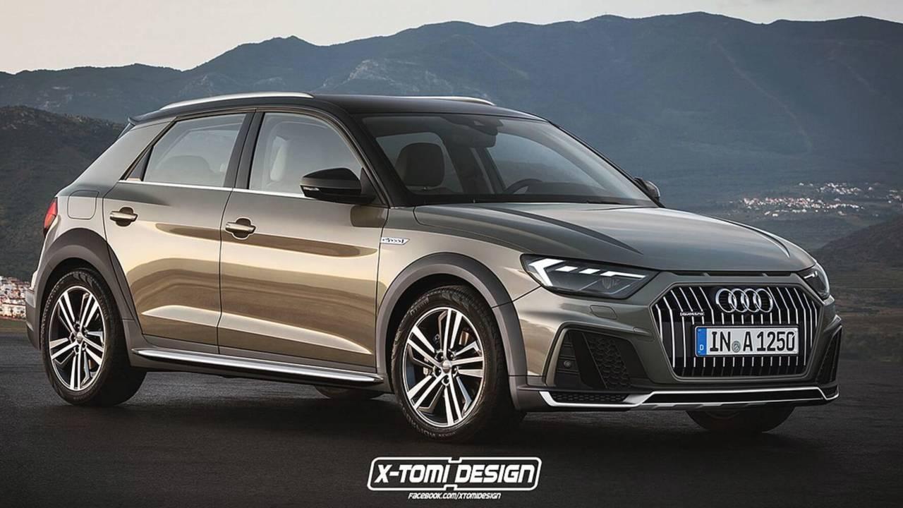 2019 Audi A1 Allroad Render Motor1 Com Photos