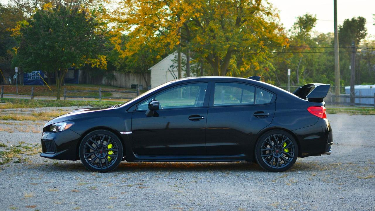 2018 Subaru WRX STI Review Colin McRae Cosplay