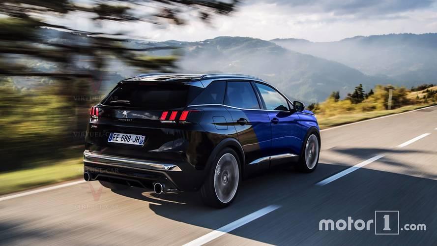 Projeção - Peugeot 3008 GTi