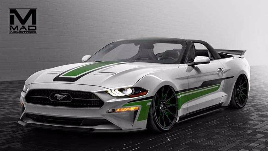 2018 Ford Mustang by MAD