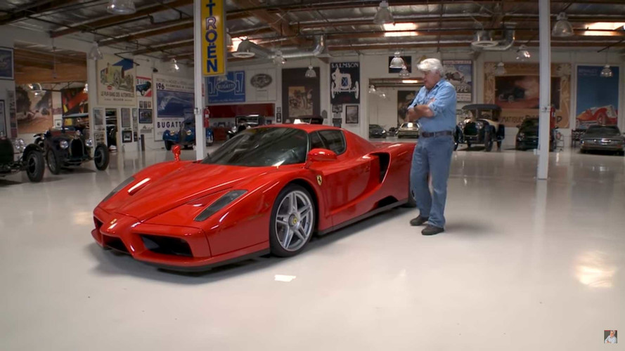 Watch Jay Leno Drive Someone Else's Ferrari Enzo In California