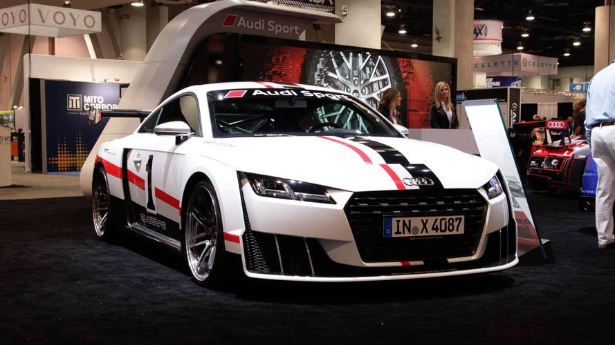 Audi TT Clubsport Concept Races Into SEMA With 600 HP