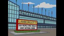 I SImpson visitano la Lamborgotti...