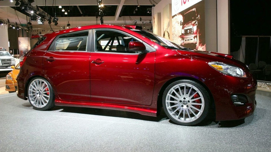 Toyota Matrix Rally Sport Concept at Los Angeles Motor Show