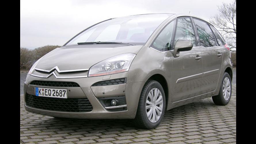 Extravagante Aussichten: Citroën C4 Picasso als Fünfsitzer