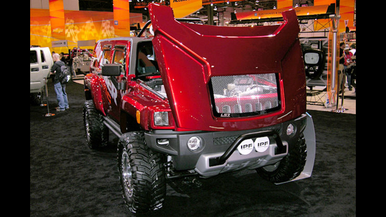 Hummer H3R Concept
