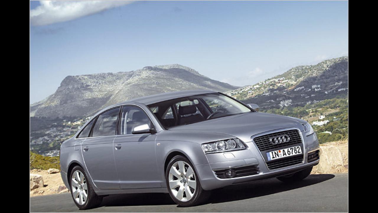 Platz 1 in der oberen Mittelklasse: Audi A6 (27,6 Prozent)