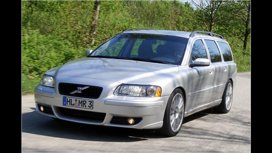 MR Sweden Motorsport: Mehr Druck für den Volvo V70 D5