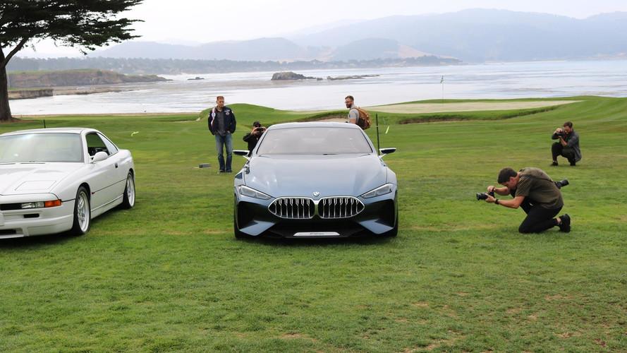 BMW 8 Series Concept à Pebble Beach