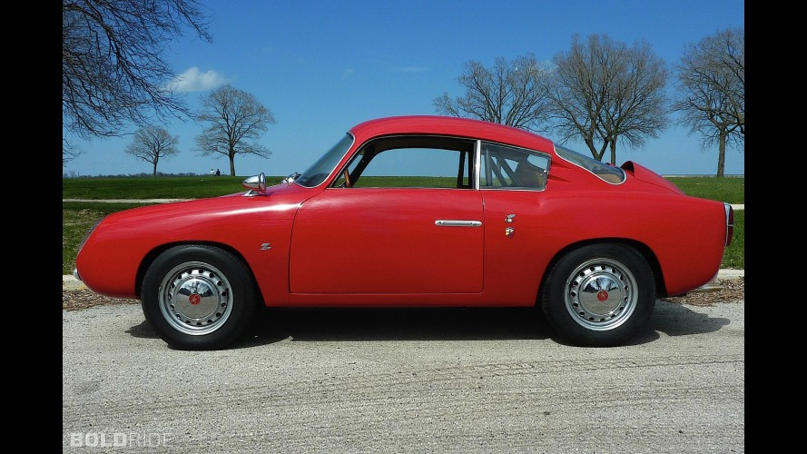 Fiat Abarth 750 Zagato Double Bubble