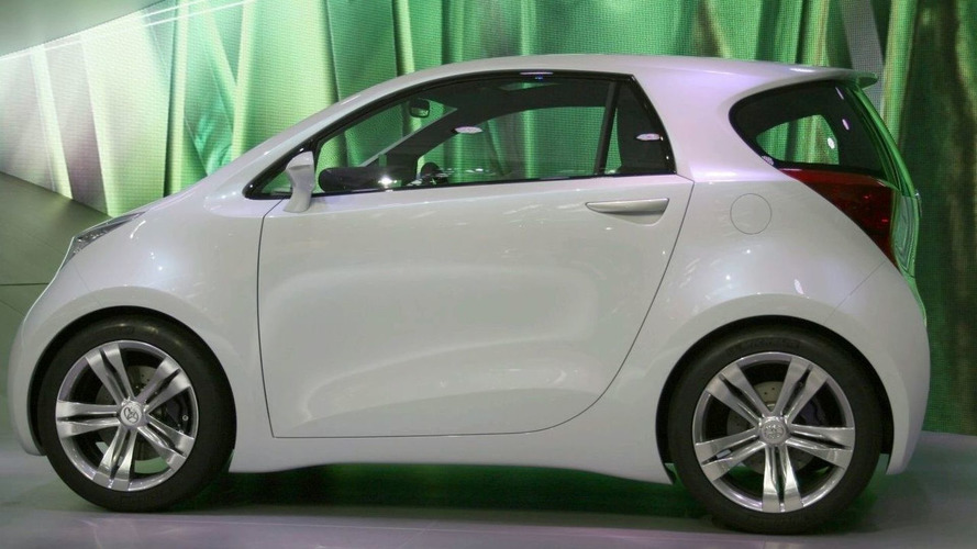 Toyota Launches iQ Concept