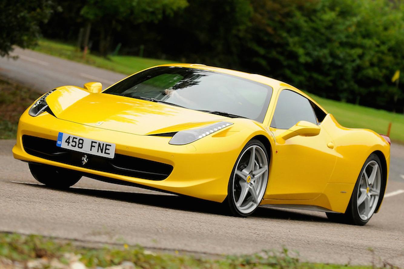 Ferrari 458 Gets a Recall Because of Its Trunk