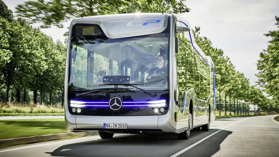 Mercedes autonomous bus of the future revealed