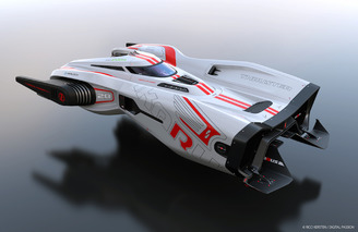 Space Racing Doesn't Seem That Far Away With This Concept