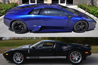 Pristine 2005 Ford GT or 1,000HP Lamborghini Murcielago: Which Would You Buy?