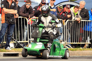 Your Health Plan Will NOT Cover this 107-MPH Mobility Scooter