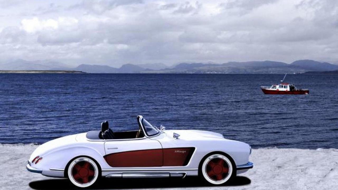 Mercedes-Benz 300 SL (W198) by Atelier Valdeig
