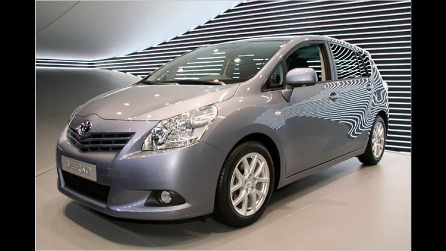 Weltpremiere für neuen Kompakt-Van Toyota Verso