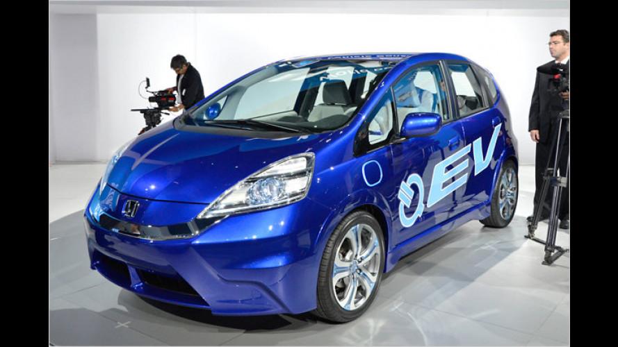 Honda Jazz E-Studie: Fit für den Strom-Einsatz