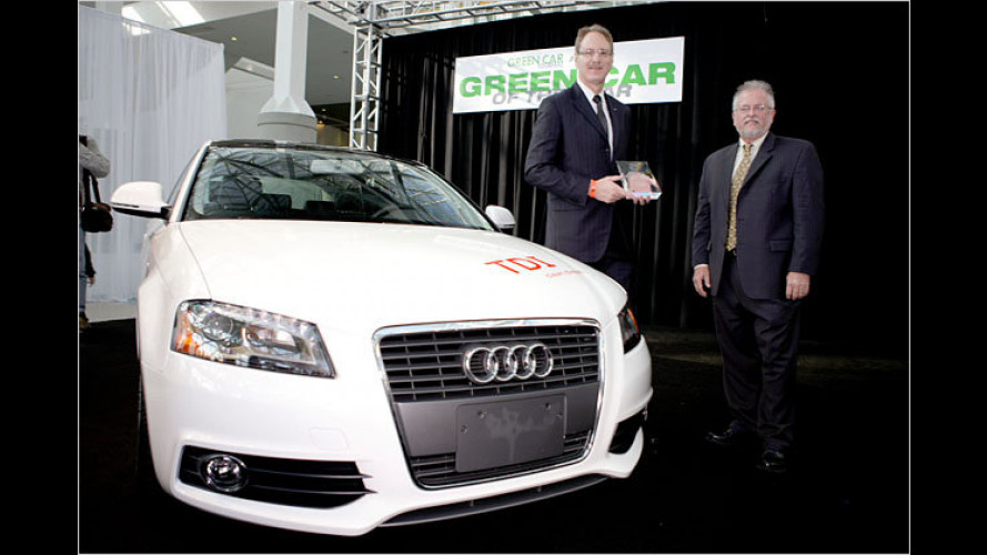 Audi A3 TDI als ,Green Car of the Year 2010