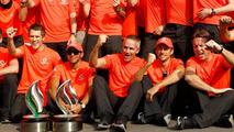 2013 Italian Grand Prix, McLaren team photo 09.09.2012