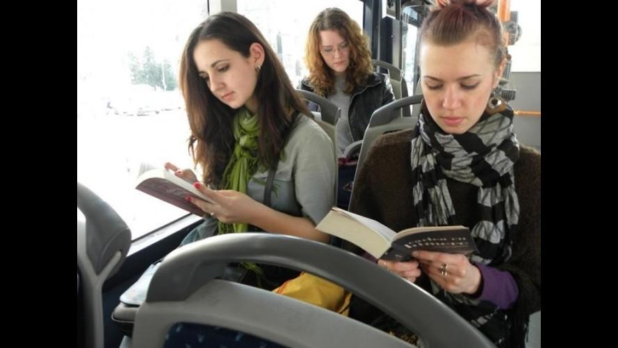 Kitap Oku, Otobüse Para Ödeme!
