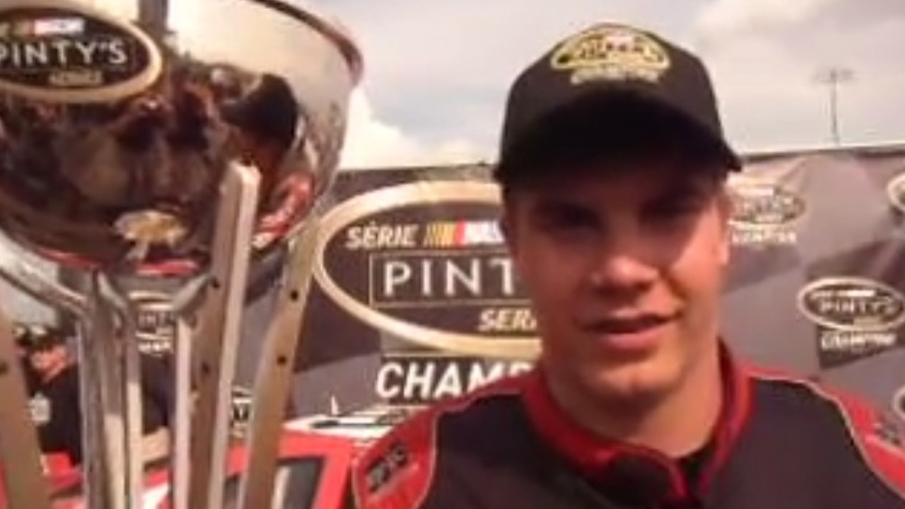 Youngest racing champion in Canadian history is just 16