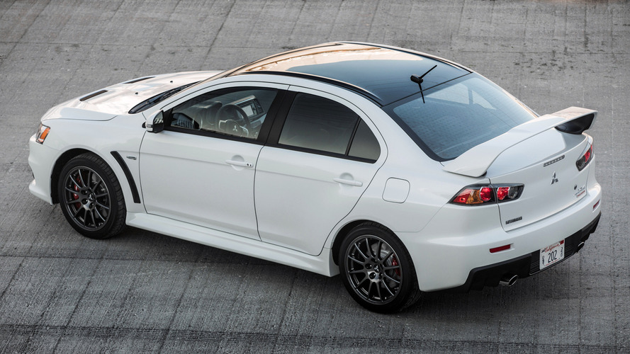 Very last Mitsubishi Lancer Evolution Final Edition will be auctioned on eBay
