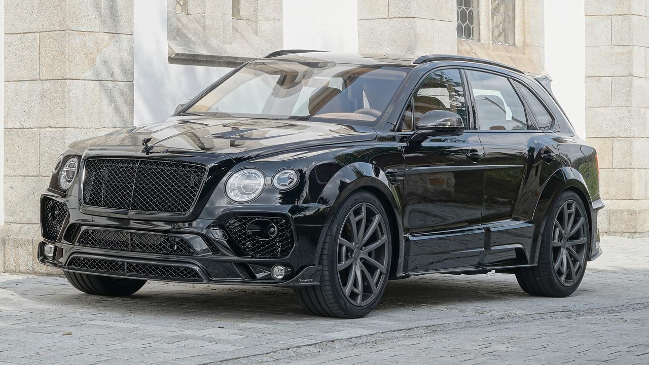 Mansory imzalı Bentley Bentayga