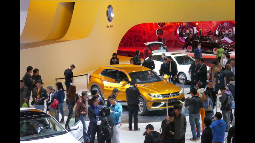 Auto Shanghai 2013: Messe für Massen