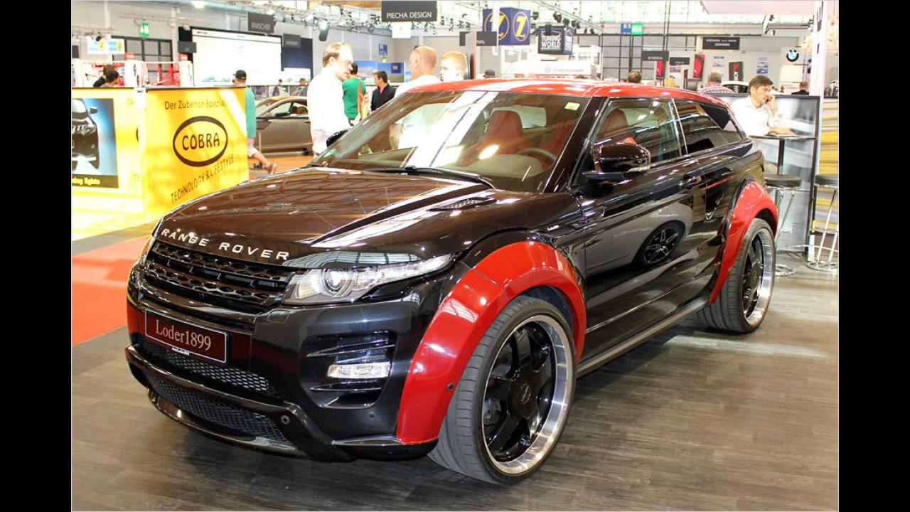 Loder1899 mit der veredelten Variante des neuen Range Rover Evoque