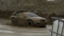 Bentley Continental GT off road