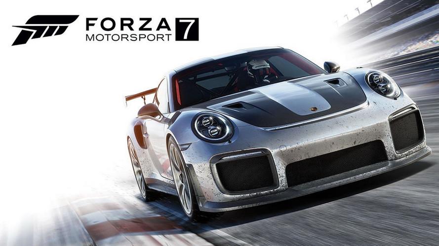 Voici les 167 premières voitures sur Forza Motorsport 7!