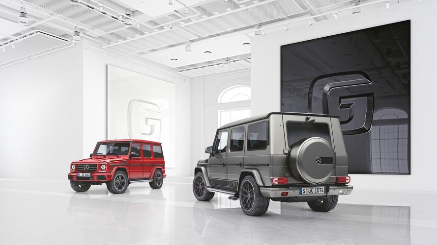 A Mercedes két különleges kiadást mutatott be a G-osztályból