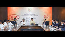 Kia signs deal for new factory in India