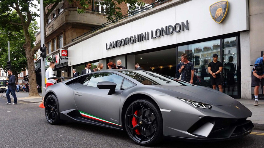 You Can Now Test-Drive A Lamborghini Huracan Performante In Britain