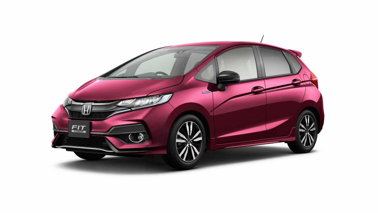 Restyled 2018 Honda Fit/Jazz