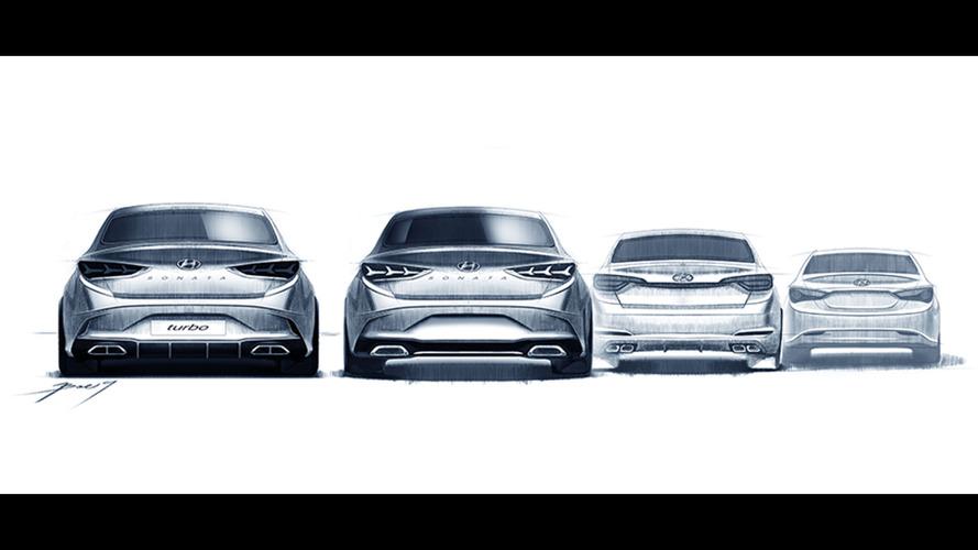 2018 Hyundai Sonata sketches