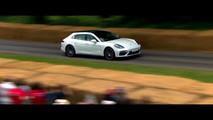 2017 Porsche Panamera Sport Turismo at Goodwood