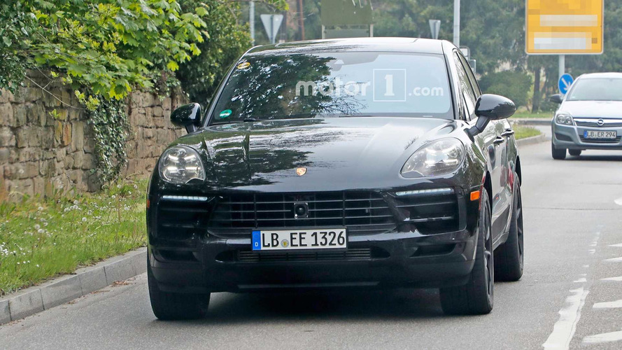 Refreshed Porsche Macan Spied Testing In Europe