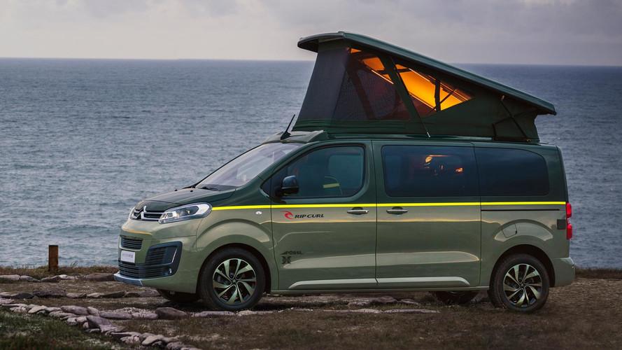 Citroën - Un SpaceTourer pour surfeurs à Francfort