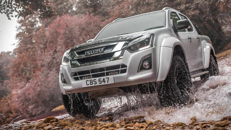 Isuzu Says New Arctic Trucks AT35 Can Go Anywhere, Do Anything
