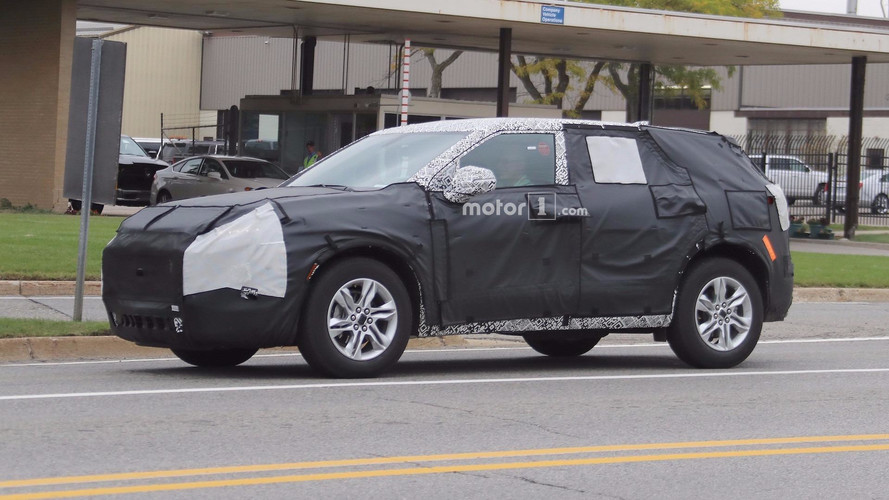 Chevy Blazer Spied Again With Crossover Cues