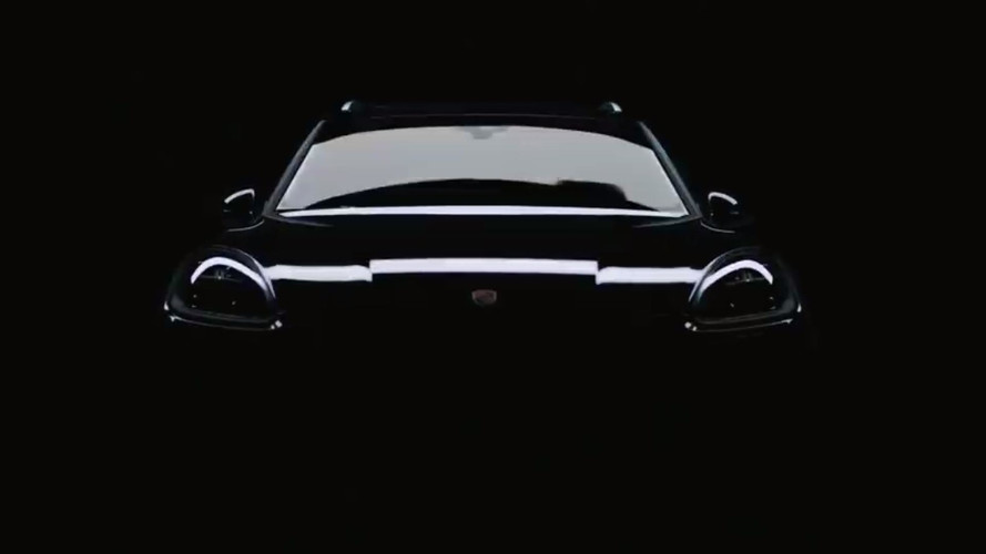 Porsche Cayenne Final Teaser Eases The Wait Until Tonight's Debut